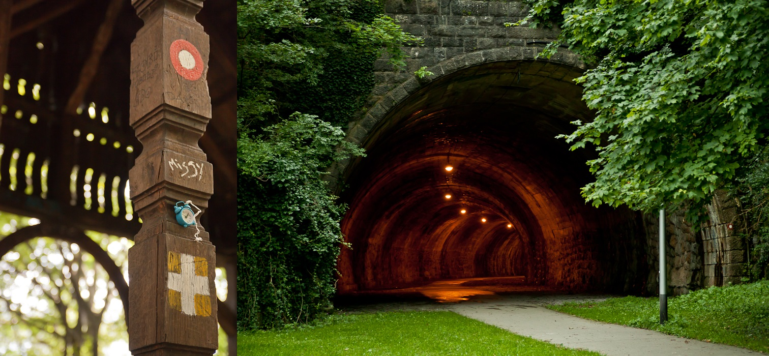 134 Tunnel Collage